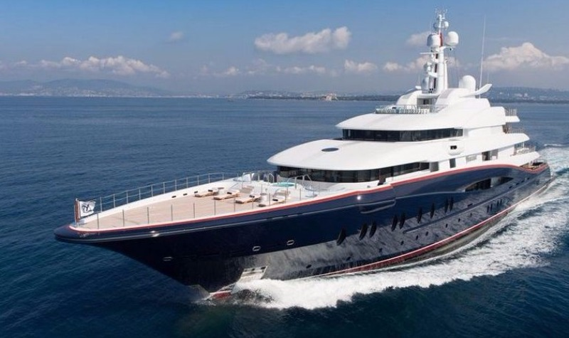 Luxury yacht Nirvana goes on the market for £200 million